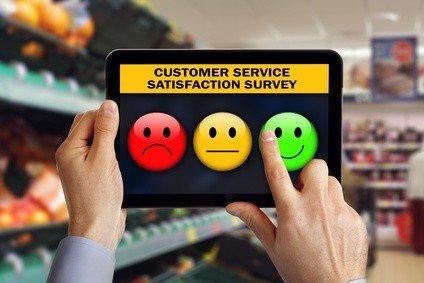 Service de satisfaction clients