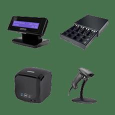 Le matériel 0XH00 qui s'adapte à votre caisse en ligne