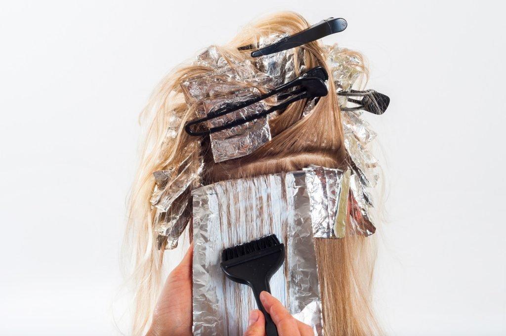 salon de coiffure caisse enregistreuse
