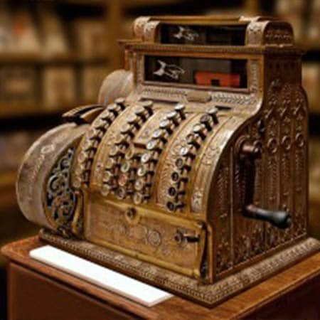 Une caisse enregistreuse utilisé dans le monde